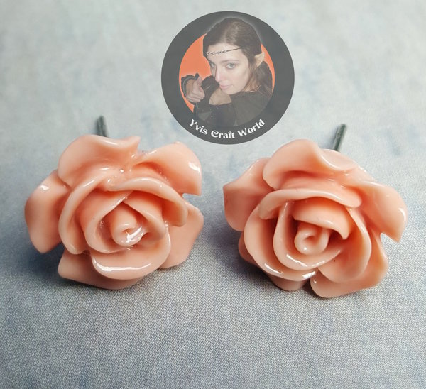 "Ohrstecker ""Rose"""