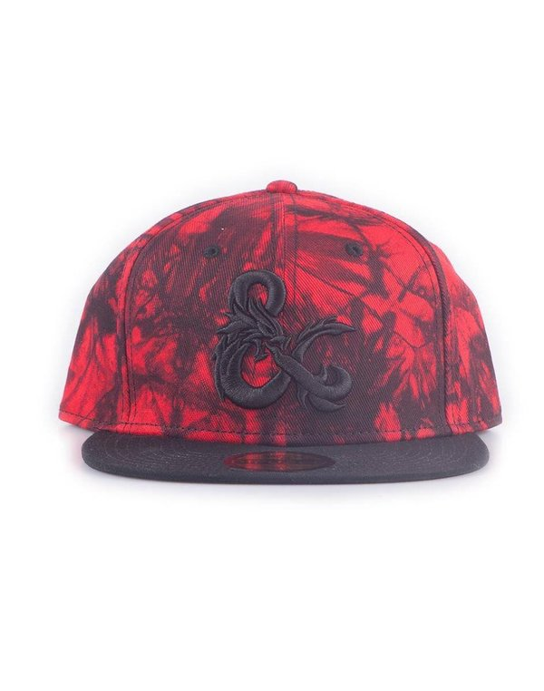 Dungeons & Dragons - Snapback Cap - Ampersand - red