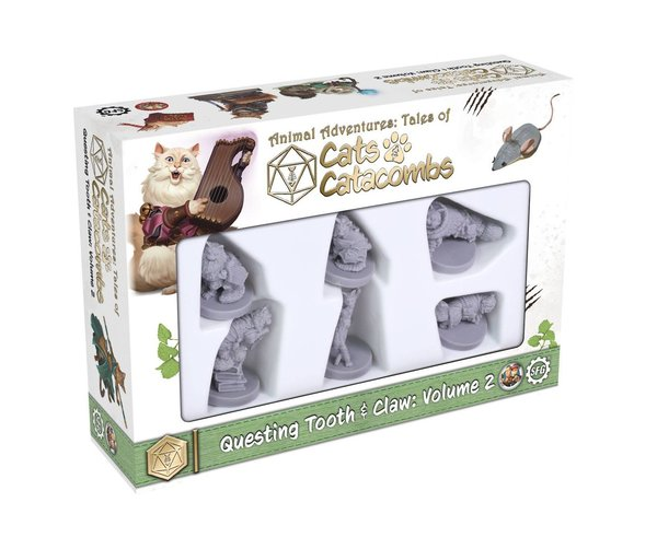 Cats and Catacombs Miniatures Box 2