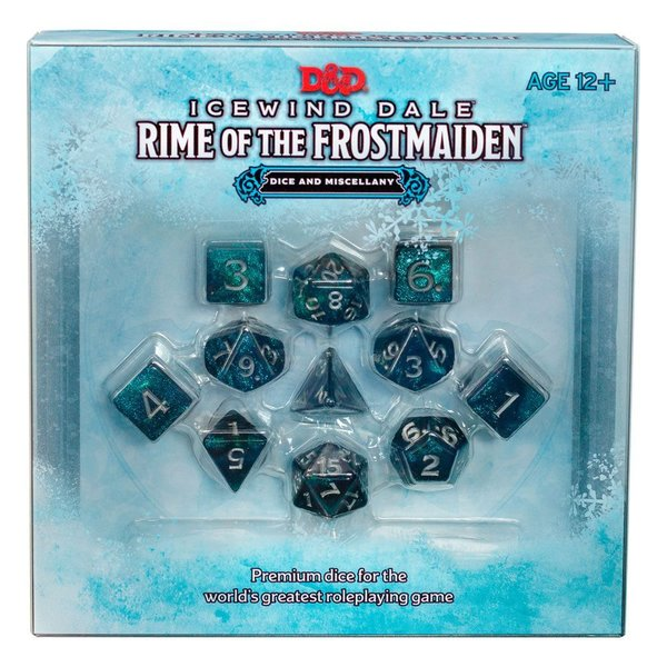 Dungeons & Dragons - RPG Würfel Set - Icewind Dale: Rime of the Frostmaiden