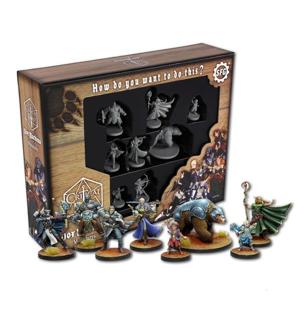 "Critical Role Miniatures (Pack of 8) ""Vox Machina"" *English Version*"
