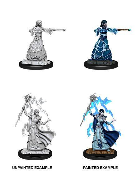"D&D -Nolzur's Marvelous Miniatures (Miniaturen, unbemalt) ""Female Elf Wizard"""