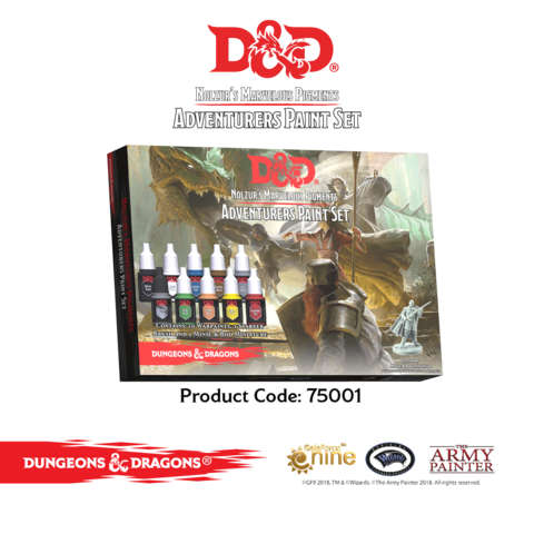 D&D - Nolzur's Marvelous Pigments- Adventurers Paint Set !!VORBESTELLUNG!!
