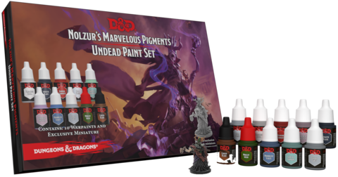 D&D - Nolzur's Marvelous Pigments- Undead Paint Set !!VORBESTELLUNG!!