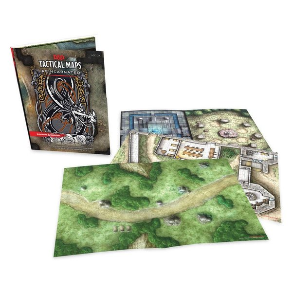 Dungeons & Dragons - Tactical Maps Reincarnated !!VORBESTELLUNG!!