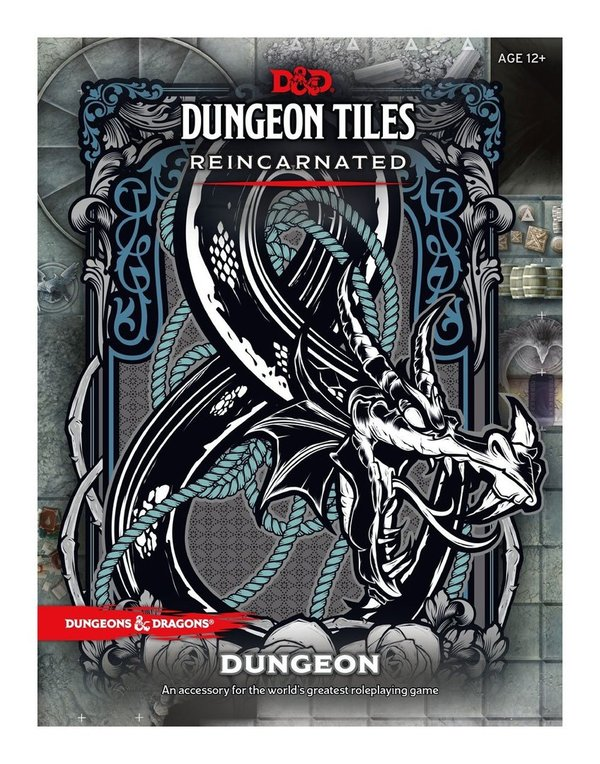 Dungeons & Dragons - Dungeon Tiles - Reincarnated: Dungeon !!VORBESTELLUNG!!