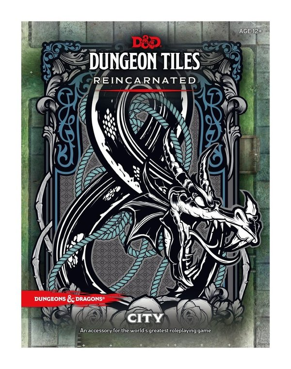 Dungeons & Dragons - Dungeon Tiles - Reincarnated: City !!VORBESTELLUNG!!