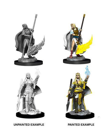 "Pathfinder Battles -Deep Cuts Miniaturen unbemalt ""Female Human Oracle"" (Magic User) !!VORBESTELL.!!"