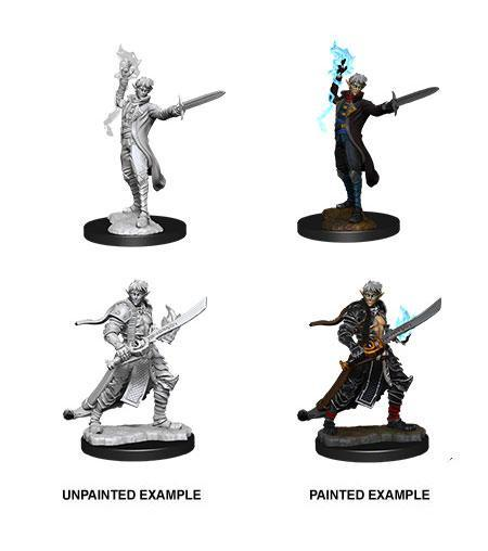 "Pathfinder Battles -Deep Cuts Miniaturen unbemalt ""Male Elf Magus"" (Magic User)  !!VORBESTELLUNG!!"
