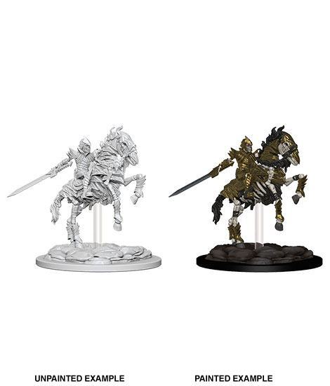 "Pathfinder Battles -Deep Cuts Miniaturen unbemalt ""Skeleton Knight on Horse""  !!VORBESTELLUNG!!"