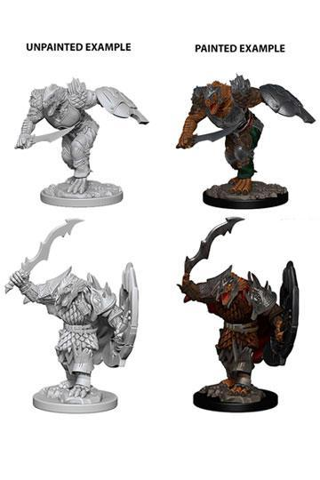 "D&D -Nolzur's Marvelous Miniatures (Miniaturen, unbemalt) ""Dragonborn Male Fighter"" !VORBESTELLUNG!"