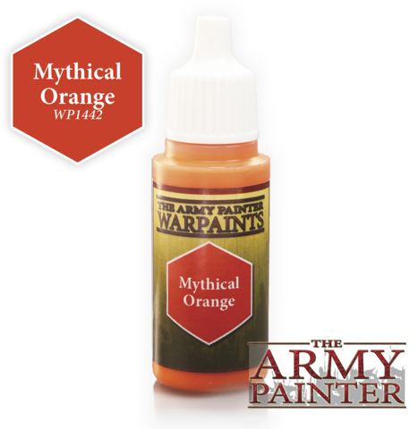 Army Painter - Warpaints ''Mythical Orange""