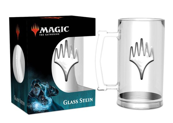 "Magic the Gathering - Glas-Bierkrug ""Planeswalker"""