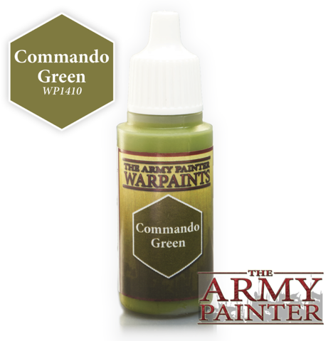 Army Painter - Warpaints ''Commando Green""