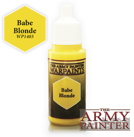 Army Painter - Warpaints ''Babe Blonde""