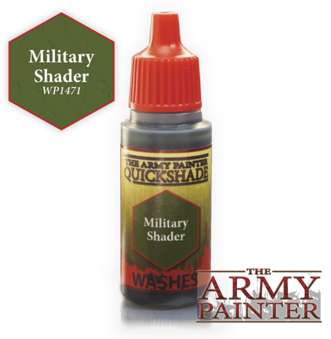 Army Painter - Quickshade Wash ''Military Shader""