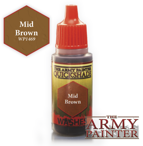 Army Painter - Quickshade Wash ''Mid Brown""