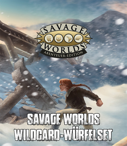 Savage Worlds - Wildcard-Würfelset