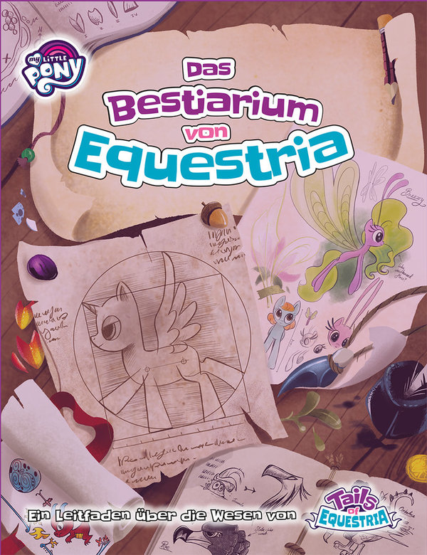 My Little Pony - Tails of Equestria - Das Bestiarium von Equestria